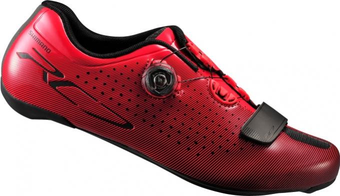 boty Shimano RC7 červené