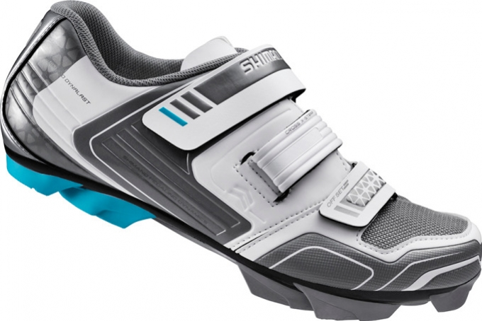 boty Shimano WM53 bílé