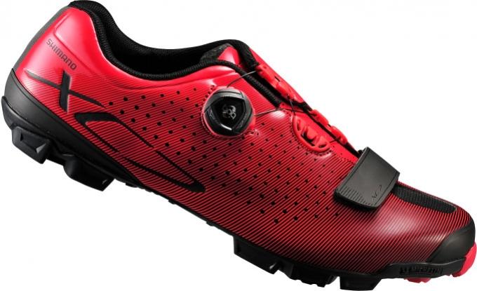 boty Shimano XC7 červené