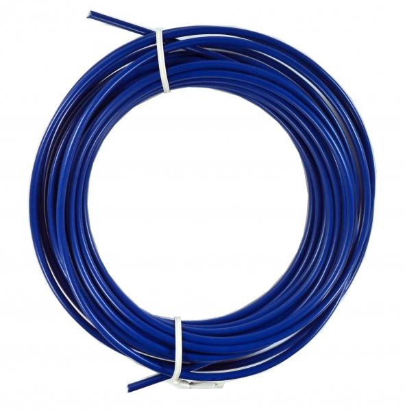 bowden brzdový 5mm 2P 10m tm.modrý role