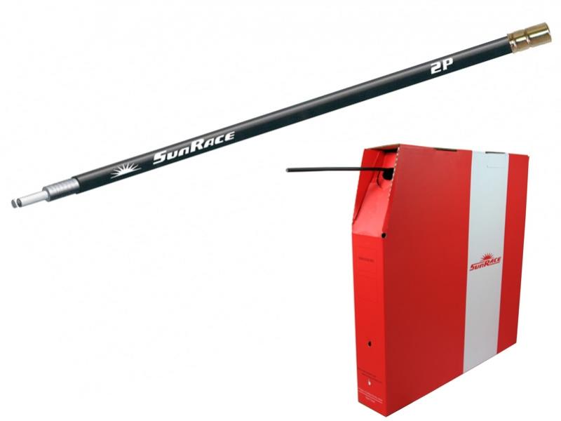 bowden SunRace OCB2P brzdový 5mm x 50m černý role