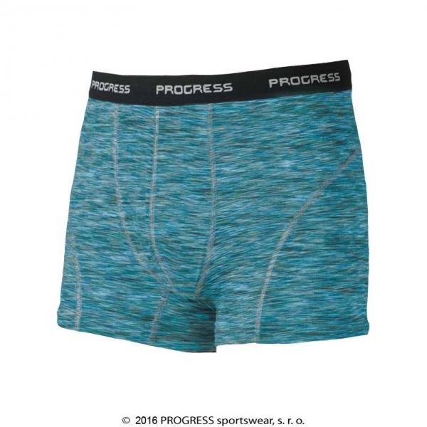 boxerky Progress BOND tyrkysové