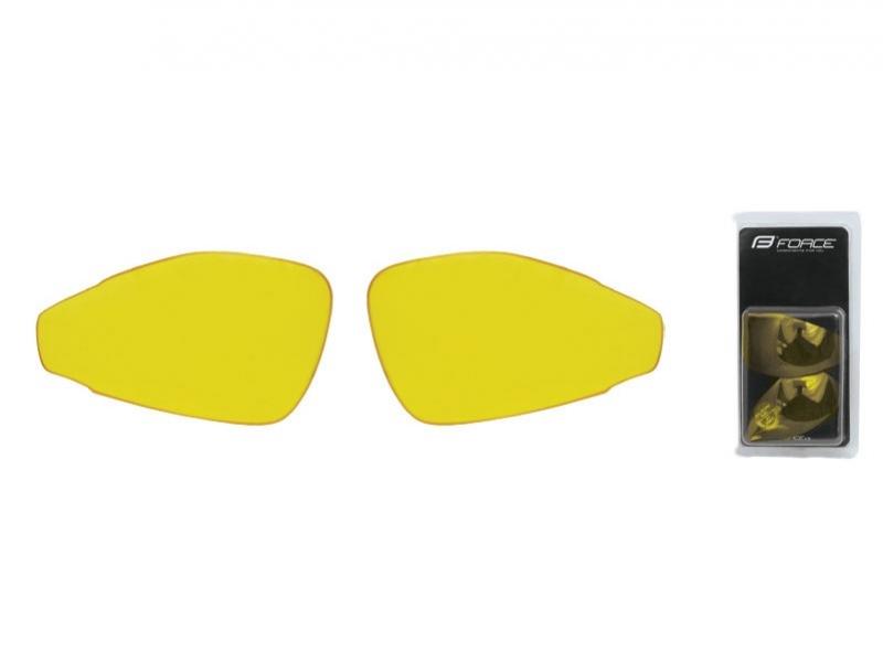brýle FORCE PRO - skla žlutá
