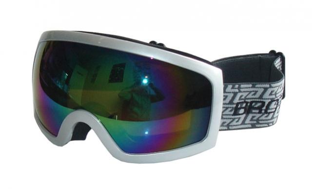 brýle lyžařské BROTHER B276 stříbrné