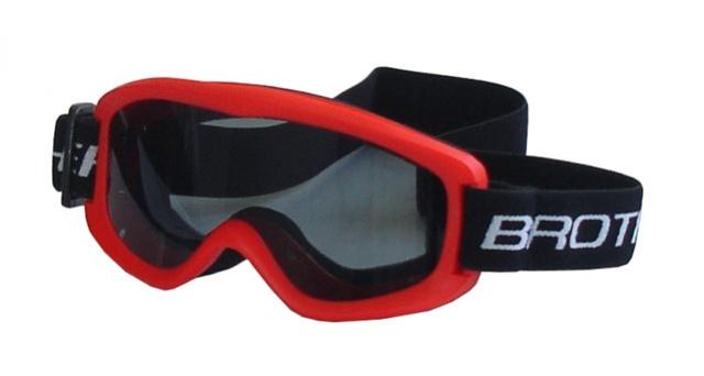 brýle lyžařské BROTHER dětské B132 červené