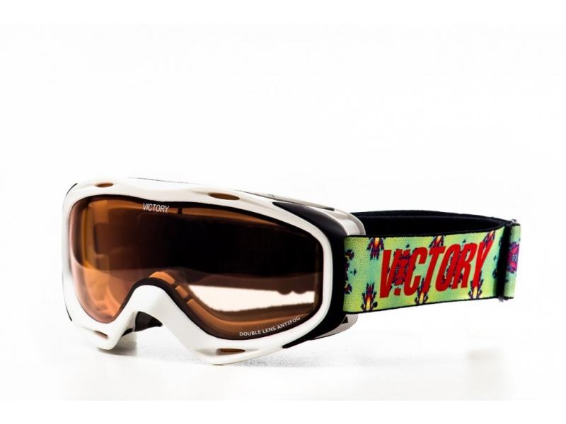 brýle lyžařské Victory 614B bílé