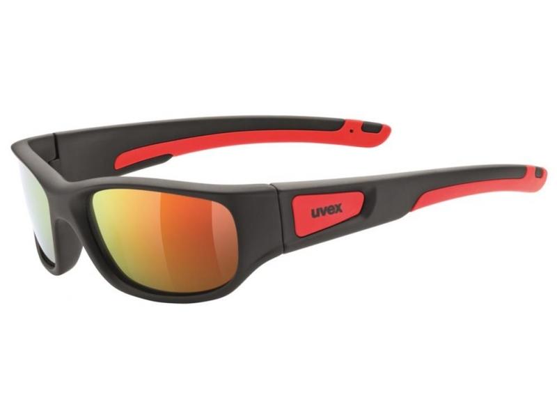 brýle UVEX Sportstyle 506 černo/červené