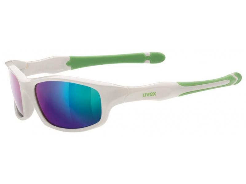 brýle UVEX Sportstyle 507 bílo/zelené