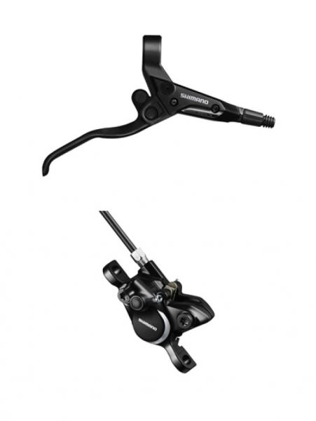 brzda Shimano Altus BR-M315 zadní komplet bez adaptéru černá servisní balení
