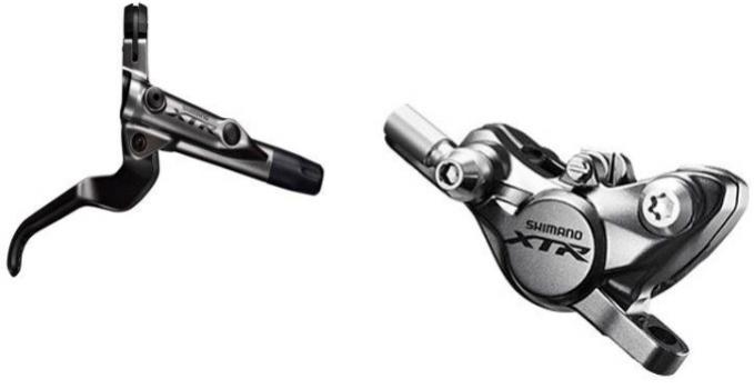 brzda Shimano XTR BR-M9000 přední komplet bez adaptéru antracitová ori