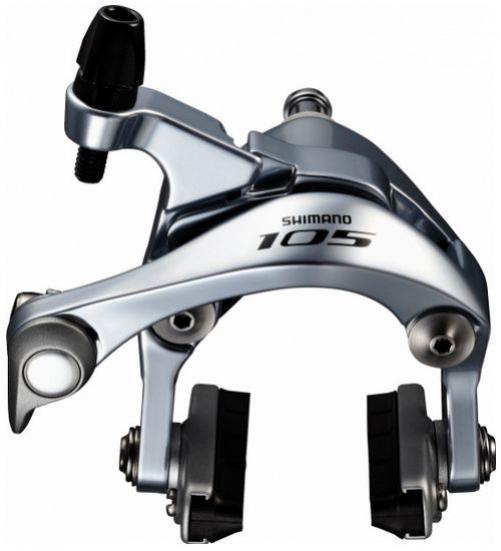 brzda Shimano 105 BR-5800 přední stříbrná 51mm servisní balení