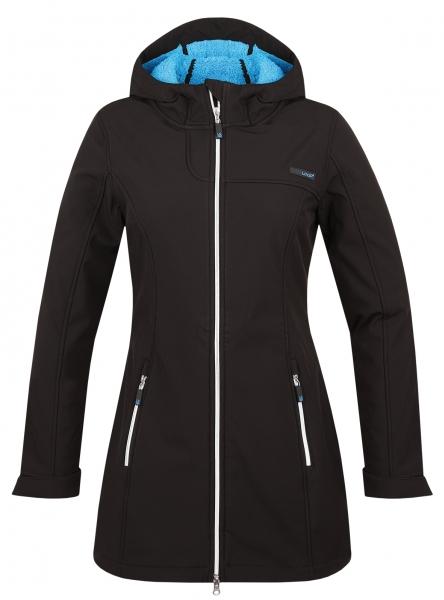 kabát dámský LOAP LELA softshell černá (XL)