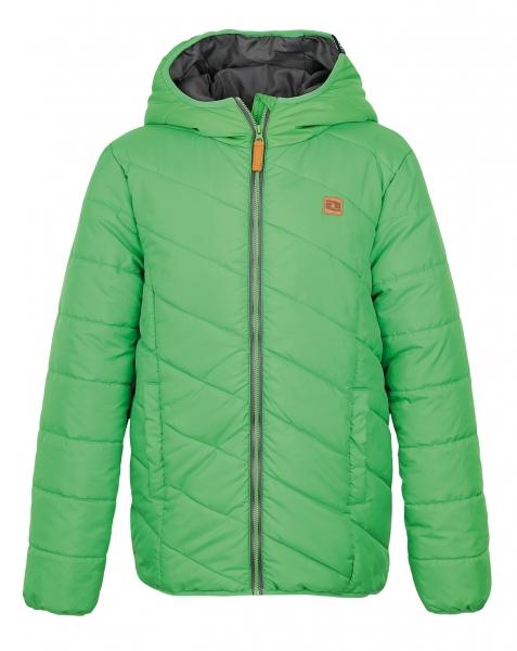 bunda dětská LOAP ULRICH zimní zelená (128;140;152;164)