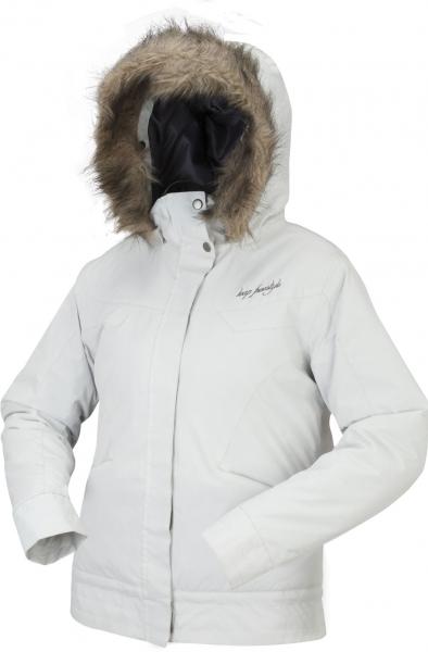 bunda dámská LOAP SUETTE zimní bílá v.L