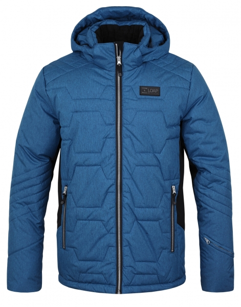 bunda pánská LOAP FROLE lyžařská modrá (L)