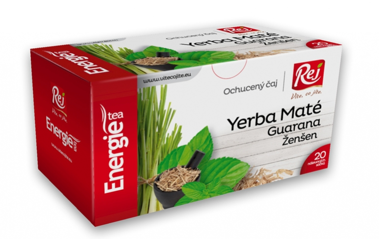 čaj - ENERGIE (Yerba Maté,guarana,ženšen)