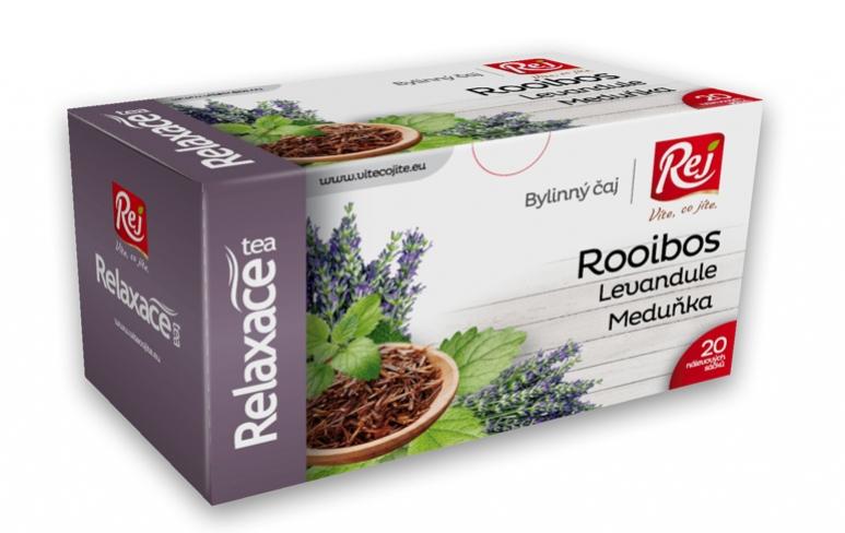 čaj - RELAXACE (Rooibos,levandule,meduňka)