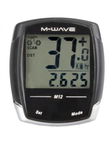 computer M-Wave M12 12 funkcí černý