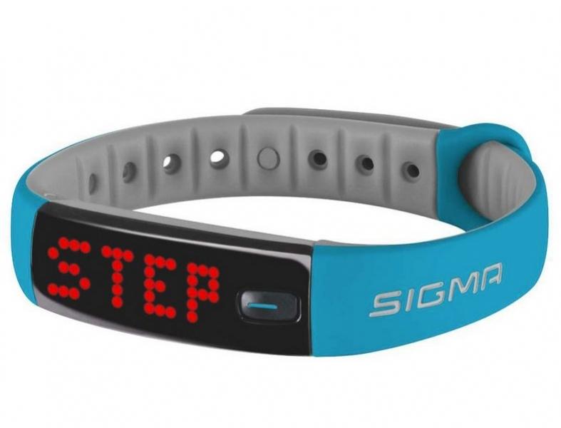 pulsmetr SIGMA fitness Activo modrý