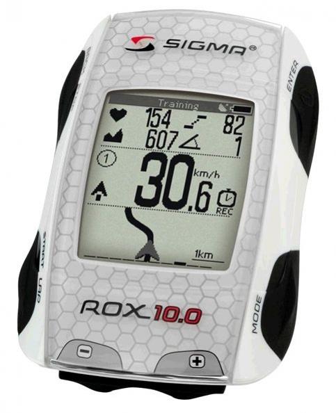 computer SIGMA ROX 10.0 GPS BASIC bílý