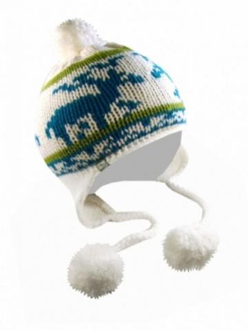 čepice LOAP CATERIN zimní bílá