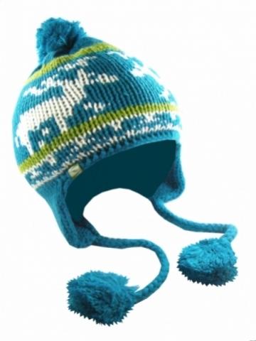 čepice LOAP CATERIN zimní modrá