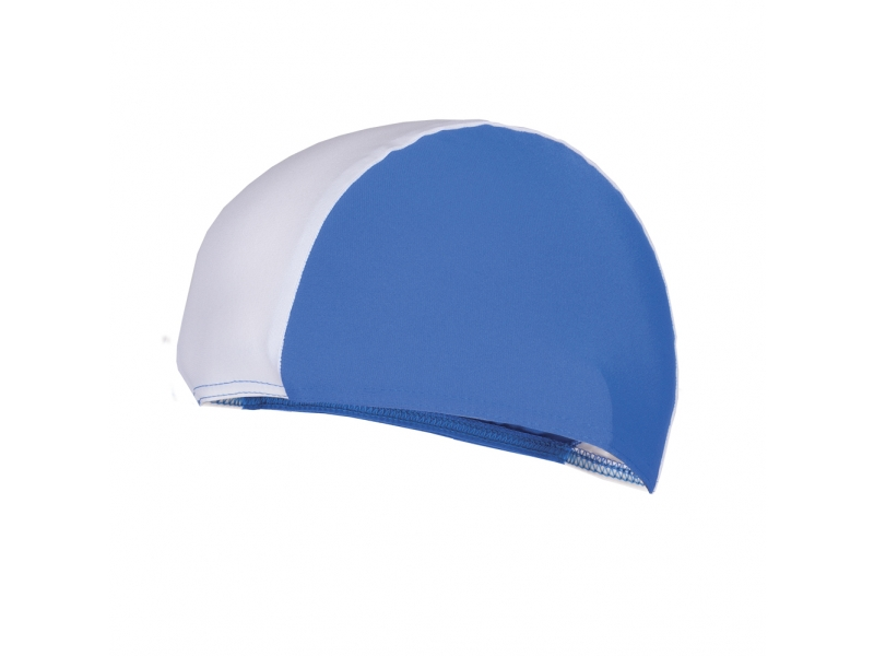 čepice plavecká Spokey LYCRAS modro/bílá