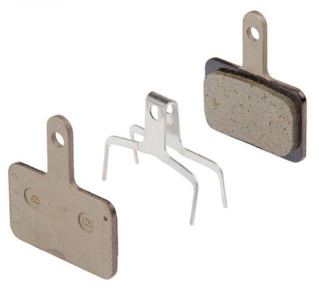 brzdové destičky Shimano Deore, Alivio, Acera B01S polymer original bal