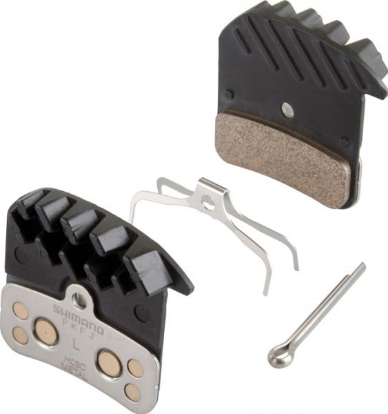 brzdové destičky Shimano SAINT, ZEE H03C kovové original balení