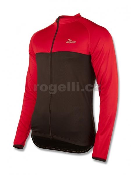 dres dlouhý pánský Rogelli CALUSO černo/červený