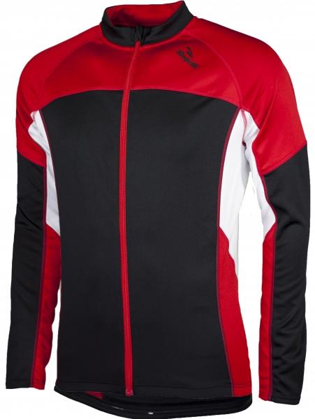 dres dlouhý pánský Rogelli RECCO černo/červený