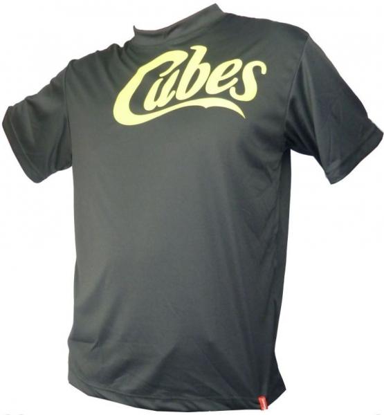 dres krátký pánský HAVEN CUBES černo/zelený