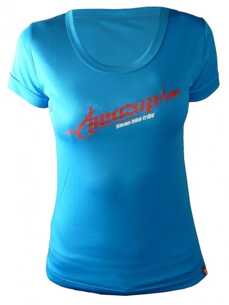 dres krátký dámský HAVEN AMAZON modro/růžový,L