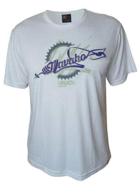 dres krátký pánský HAVEN NAVAHO bílo/fialový