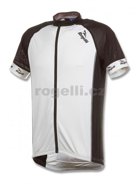 dres krátký pánský Rogelli PRALI bílo/černý