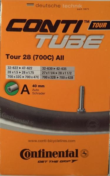 duše Continental Tour all 28 (32/47-622) AV/40mm