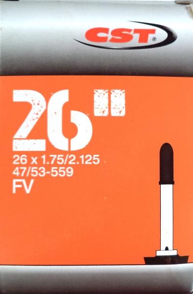 "duše CST 26""x1.75-2.125 (47/53-559) FV/40mm"