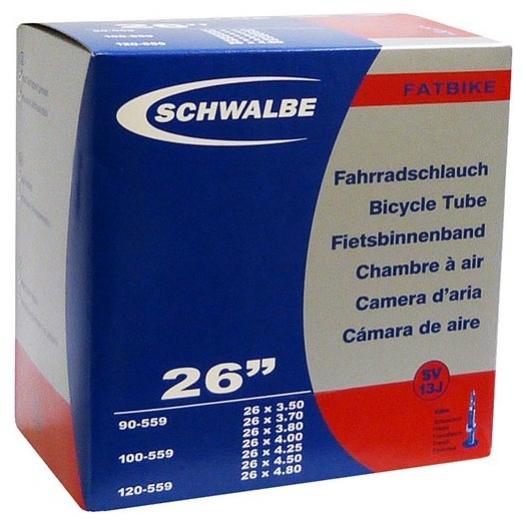 "duše SCHWALBE SV13J FatBike 26""x3.50-4.80 (90/120-559) FV/40mm"