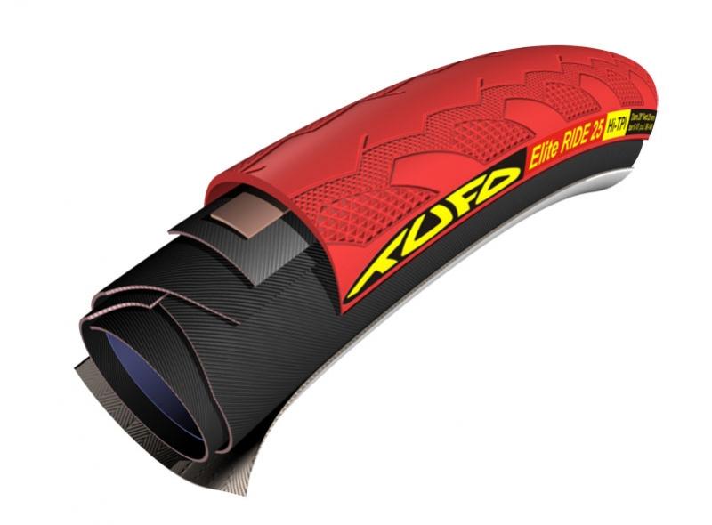 galuska TUFO Elite Ride 23 28/23mm červená