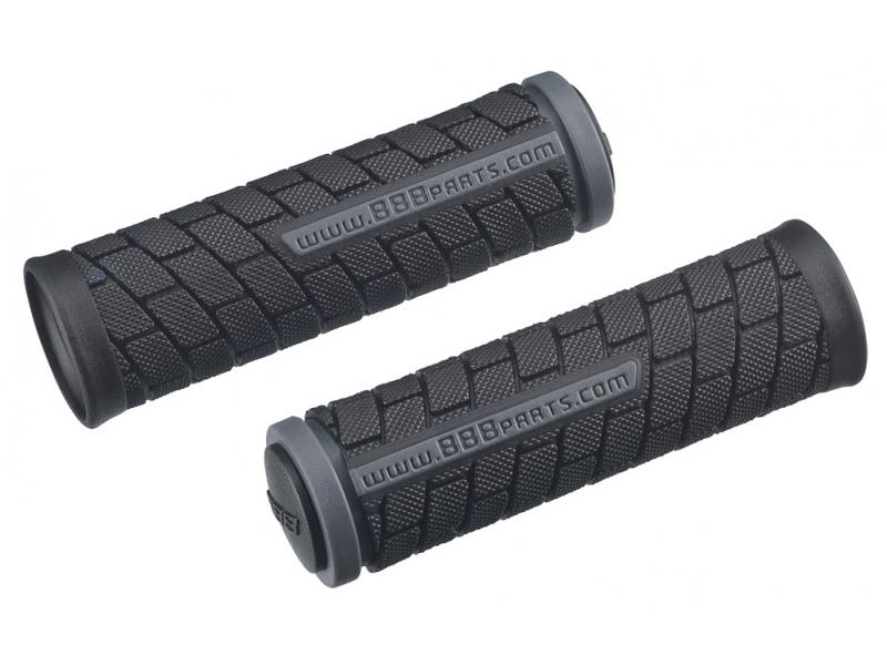 gripy BBB DualGrip 102mm černo/šedé