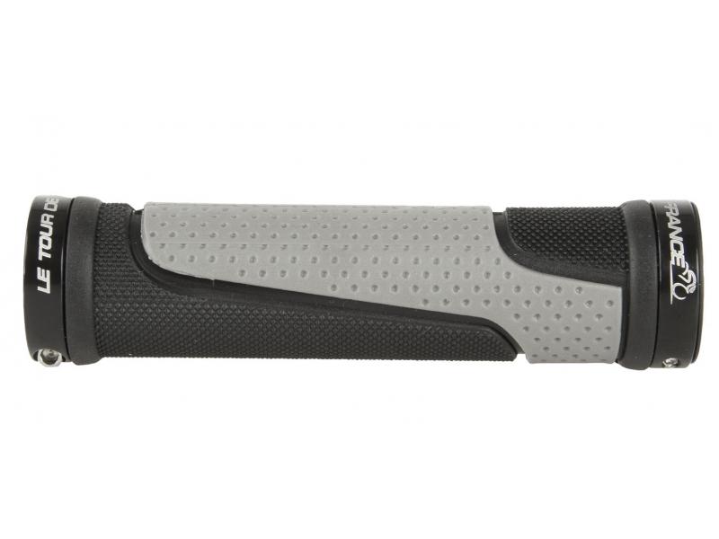 gripy Tour de France šedo-černé 2xFIX objímka