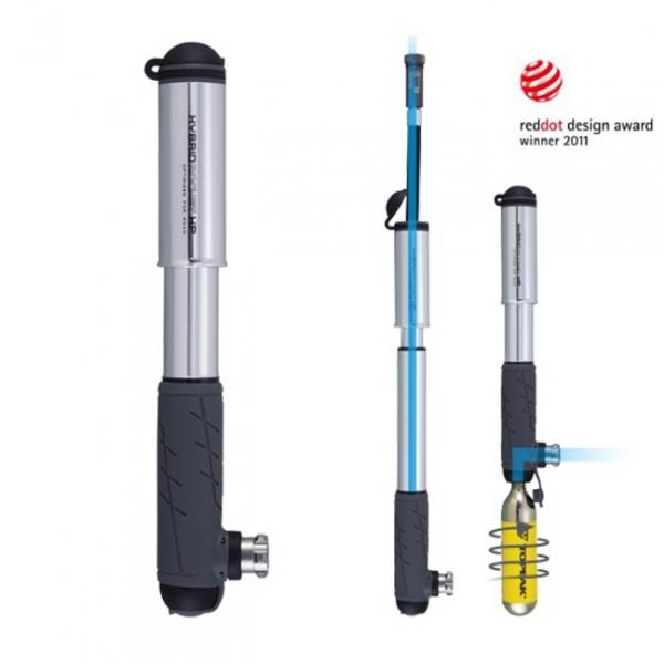 hustilka TOPEAK Hybrid Rocket HP - ROAD stříbrná