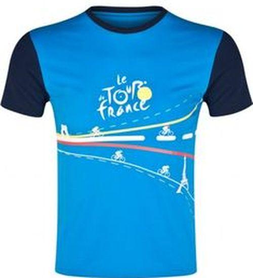 triko krátké dětské Tour de France modré