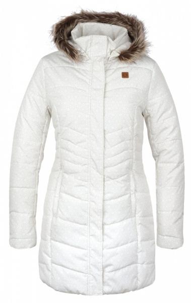 kabát dámský LOAP TAFETA bílý