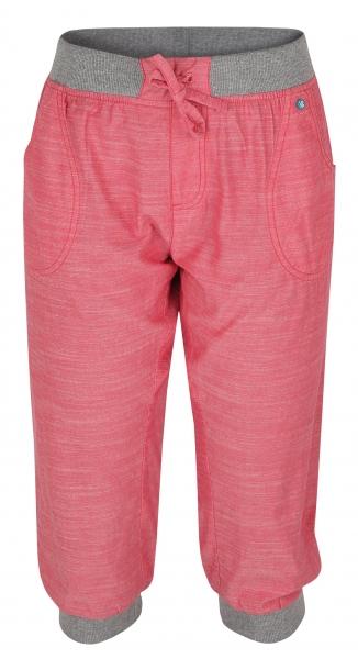 kalhoty 3/4 dámské LOAP NESFERA růžové