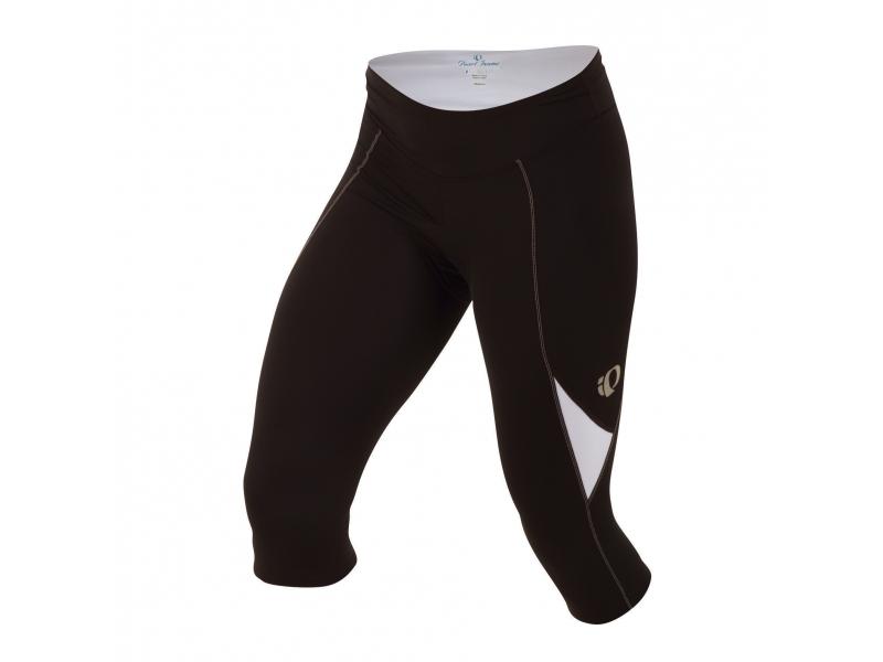 kalhoty 3/4 dámské PEARL iZUMi SUGAR černo/bílé