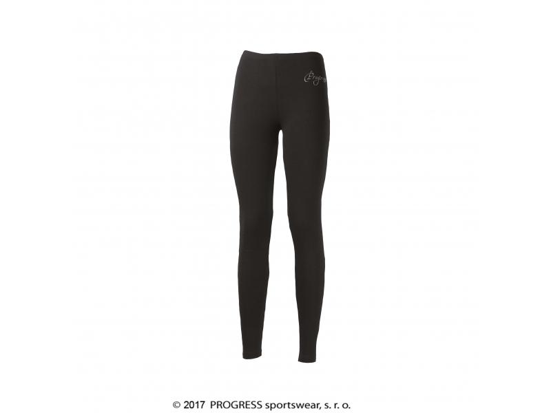 kalhoty dlouhé dámské Progress MONZA černé