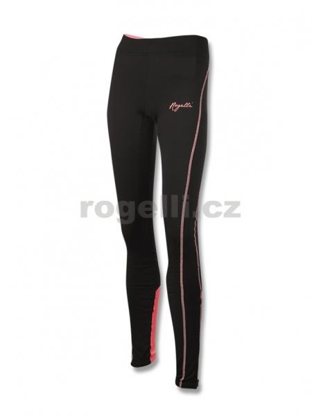 kalhoty dlouhé dámské Rogelli STEELIE černo/růžové