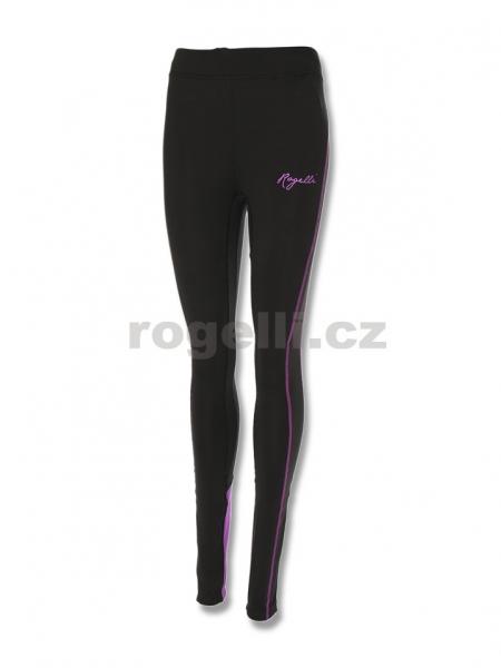 kalhoty dlouhé dámské Rogelli STEELIE černo/fialové