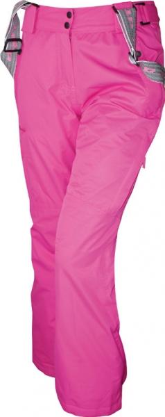 kalhoty dlouhé dámské LOAP SACHA zimní růžové